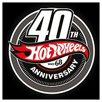 Hot Wheels Playera Conmemorativa 40 Aniversario Unica