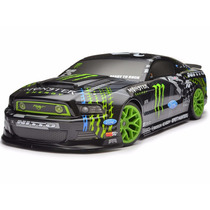 Hpi Racing 111664 1/10 E10 Drift Mustang Monster Energy Rtr