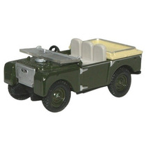 Diecast Model - Oxford 1:76 Land Rover 80 Pulgadas De Pantal