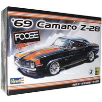 Revell 1/12 ! Camaro Z28 ´69 Foose Armar Pintar / No Tamiya