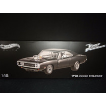 Hot Wheels Elite 1/18 1970 Dodge Charger R/t Fast & Furious
