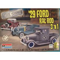Ford 1929 Pick Up Monogram Esc 1/24 Modelo Nuevo Caja Sellad