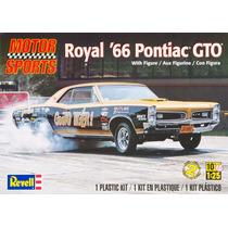Revell 85-4037 1/25 Royal ´66 Pontiac Gto W/figure Plastic