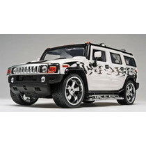 Revell 85-2867 1/25 California Wheels Hummer H2 Plastic Kit