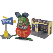 Revell Rat Fink Ed Roth Diorama 1/25 Armar Pintar / Testors