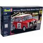 Revell Alemana Mini Cooper Rally 1964 1/24 Armar/ Testors