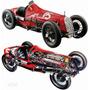 Italeri Fiat 806 Grand Prix 1927 1/12 ! Alto Detalle Armar