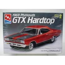 Plymouth Gtx 1969 Hard Top Amt 1/25 Nuevo Caja Sellada