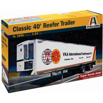 Italeri Caja Refrigerada 1/24 Tractor Trailer Armar Y Pintar