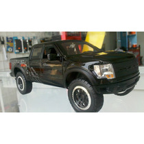 Camioneta For F 150 Svt Ractor Scale 1/24 Color Negra Collec