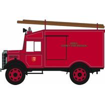 Diecast Model - Oxford 1:76 Essex Bomberos De Austin Atv
