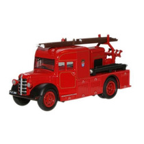 Diecast Model - Oxford 1:76 Londres Bomberos Bedford