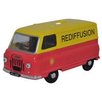 Diecast Model - Oxford 1:43 Rediffusion J2 Morris Amarillo