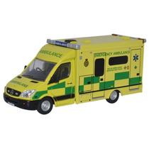 Juguete Ambulancia - Oxford Diecast Model 1:76 Welsh Mercede
