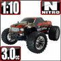 Redcat Camioneta Rc 1/10 Gasolina Nitro Radio Control