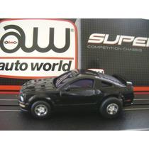 Mustang 2005 Para Pista Slot Ho 1/64 Auto World Tyco Afx