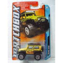 Matchbox Camioneta Dune Dog Amarilla 1:64 14/120