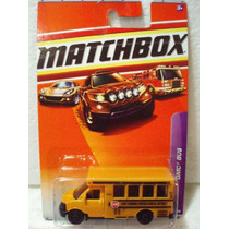 Matchbox Camion Gmc Bus Escolar Amarillo 62/75 Metal