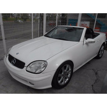Mercedes Benz Slk230 Kompressor Blanco 03