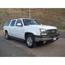 Chevrolet Suburban Ls, Mod. 2005, Color Blanco, ¡elegante!