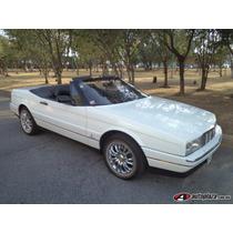 Cadillac Allanté Cabriolet 1991 4p Aut De Coleccion Nuevo !