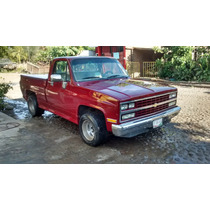 Motor V8 350, Color Rojo, Aire Ac, Tapa