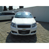 Chevrolet Aveo Mod. 2014 Blanco Paquete J