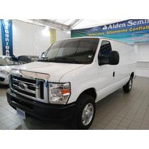 Ford Econoline E150 Van Carga Blanco