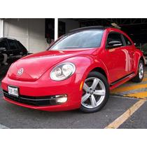 Volkswagen Beetle 2012 Turbo Dsg Quemacocos Piel 200hp