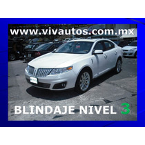 Blindaje Nivel 3 Lincoln Mks 2012 6 Cilindros