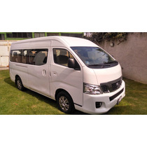 Nissan Urvan 2014 Nv350 Gasolina 15 Pasajeros