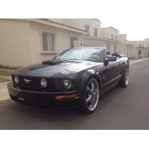 Mustang Gt 2007 8 Cil Negro Aut (con Rodado 22 Pul $185 Mil)