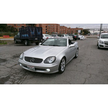 Mercedes Benz Clase Slk Slk 200 Kompresor 4 Cil Standar 2001
