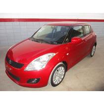 Suzuki Swift Gls, Automático, A/c, Color Rojo Modelo 2012