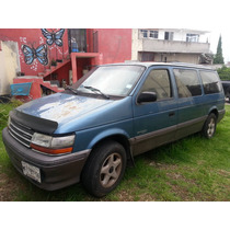 Chrysler Voyager 1993 Familiar, Lista P/viajar