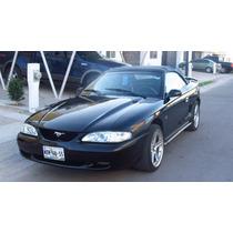 Mustang Gt, Año 1995, Convertible En Buenas Condiciones.