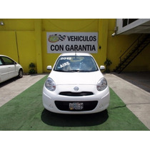 Nissan March, Unico Dueño, Aire Ac, D/h/cd/mp3, 5 Velocidade