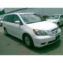 Honda Odyssey 2008 5p Exl Minivan Aut Cd Q/c