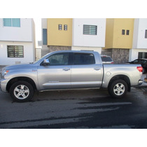 Tundra Limited 4x4, 2010 5.7 Ltdoble Cabina Piel Quemacocos