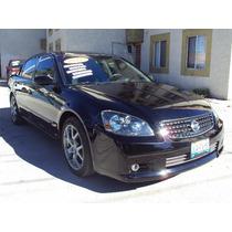 Deportivo Nissan Altima Se-r 2005 V6 Std 6 Vel +rev Piel Q/c