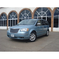 Chrysler Town&country Touring 2008 Azul