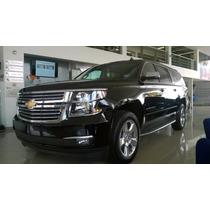 Chevrolet Suburban 2015 Nueva Negra Ltz Equipada De Lujo