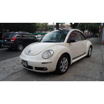 Beetle 2008 Sport 10 Años Quemacocos, Piel, Factura Original