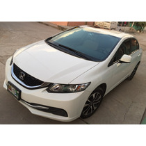 Honda Civic Motor 1.8 2013 Color Blanco 4 Puertas