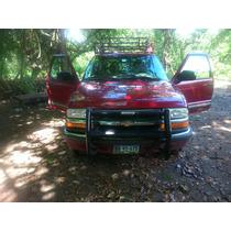 Chevrolet S10 2000 Cabina Y Media Rojo Excelente Estado