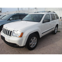 Jeep Grand Cherokee Laredo 4x2, Color Blanco, Modelo 2009