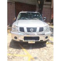 Nissan Pathfinder Armada 2006 Se 4x4 Piel Quemacoco Plata