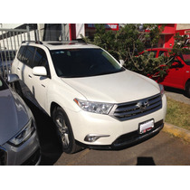Toyota Highlander Limited 4wd 2013