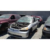 Civic Honda 2002 Aut. Mto 1.7 Lit Para Partes Y Refacciones