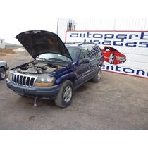 Grand Cherokee 2004 Chocada,motor 4.7 8 Cil,transmision 4x2
